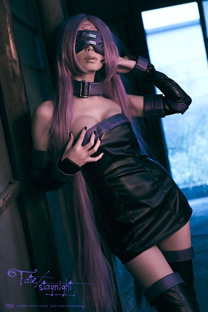 【ボディコン】Fateライダーのコスプレイヤー画像【ロングブーツ】