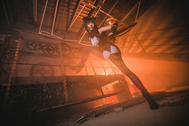 【アキバ系コス】ブレイク・ベラドンナのコスプレイヤーさんの美脚っぷりがイイ!